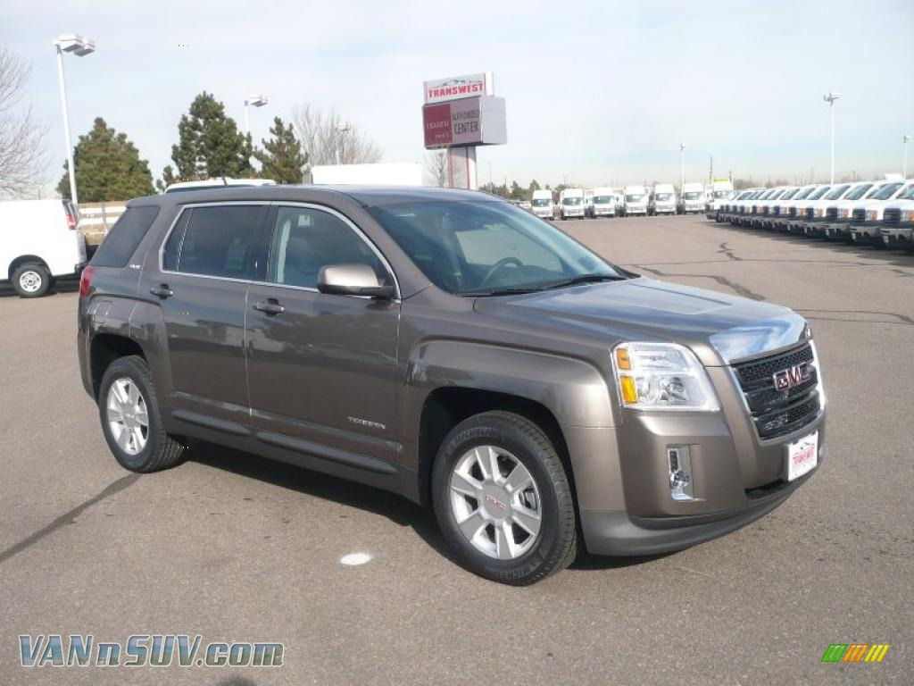 2011 Gmc Terrain Sle Awd In Mocha Steel Metallic 273041