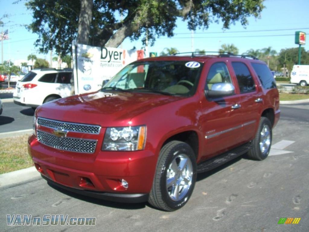 2011 Chevrolet Tahoe LTZ in Red Jewel Tintcoat - 211986 ...