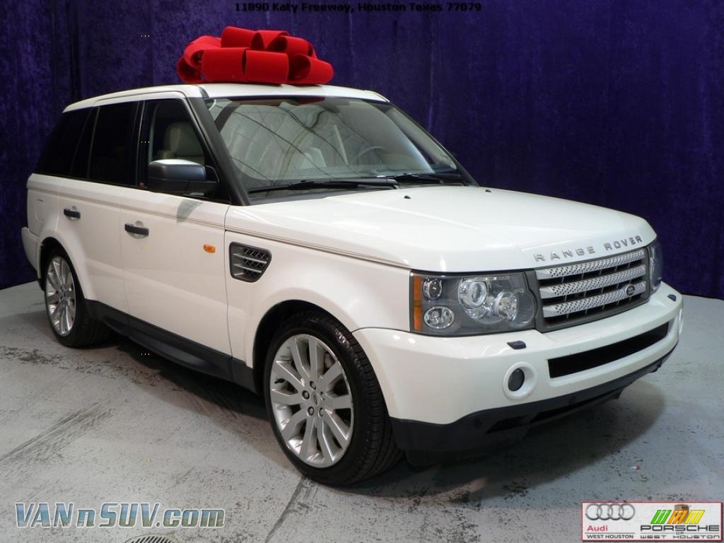 2006 land rover range rover sport supercharged in chawton white 914430 vans. Black Bedroom Furniture Sets. Home Design Ideas
