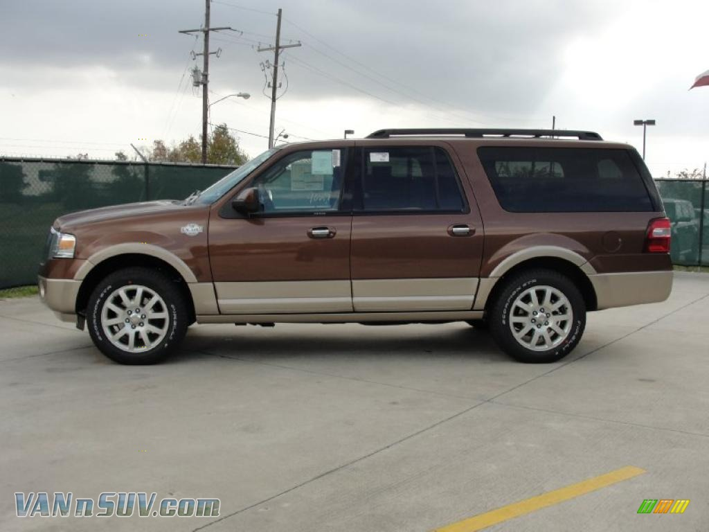 2011 ford expedition el king ranch in golden bronze. Black Bedroom Furniture Sets. Home Design Ideas