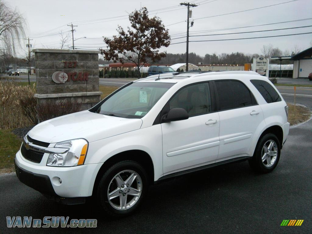 2005 chevrolet equinox lt awd in summit white 147897 vans and suvs for sale in. Black Bedroom Furniture Sets. Home Design Ideas