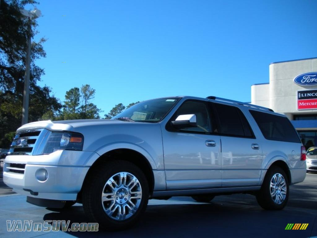 2011 Ford Expedition El Limited In Ingot Silver Metallic