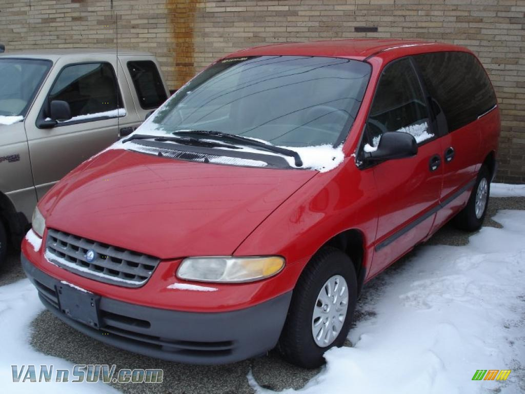 1998 plymouth voyager in flame red 662922 vannsuv com vans and suvs for sale in the us vannsuv com