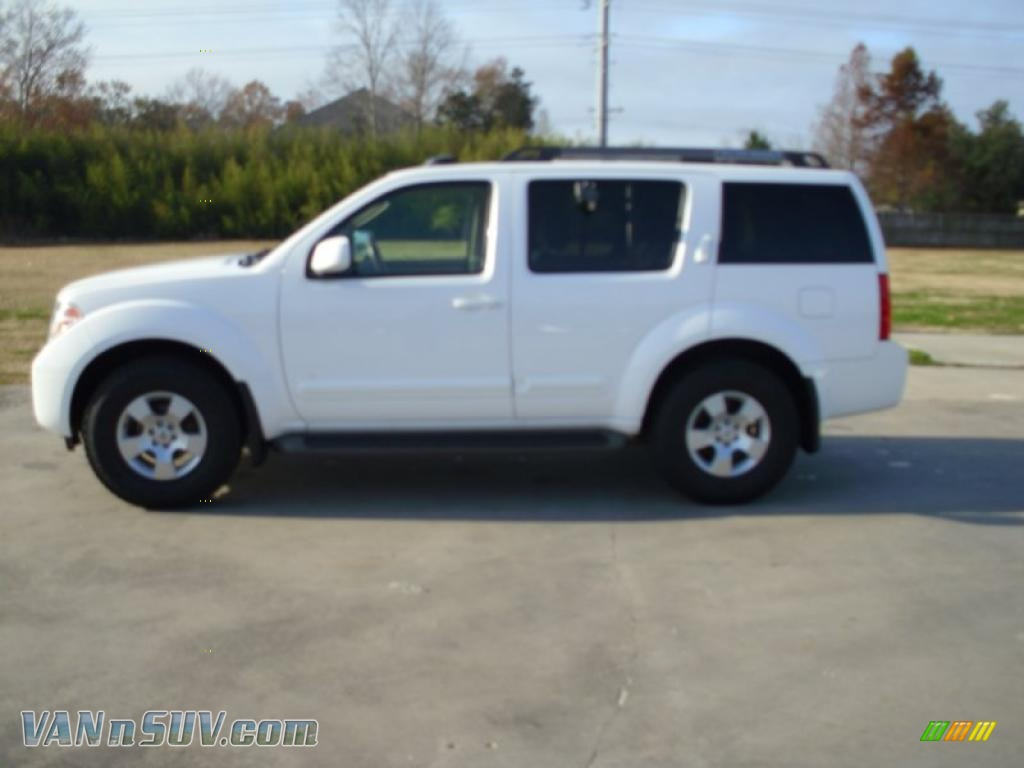 2007 Nissan Pathfinder Le In Avalanche White 641509