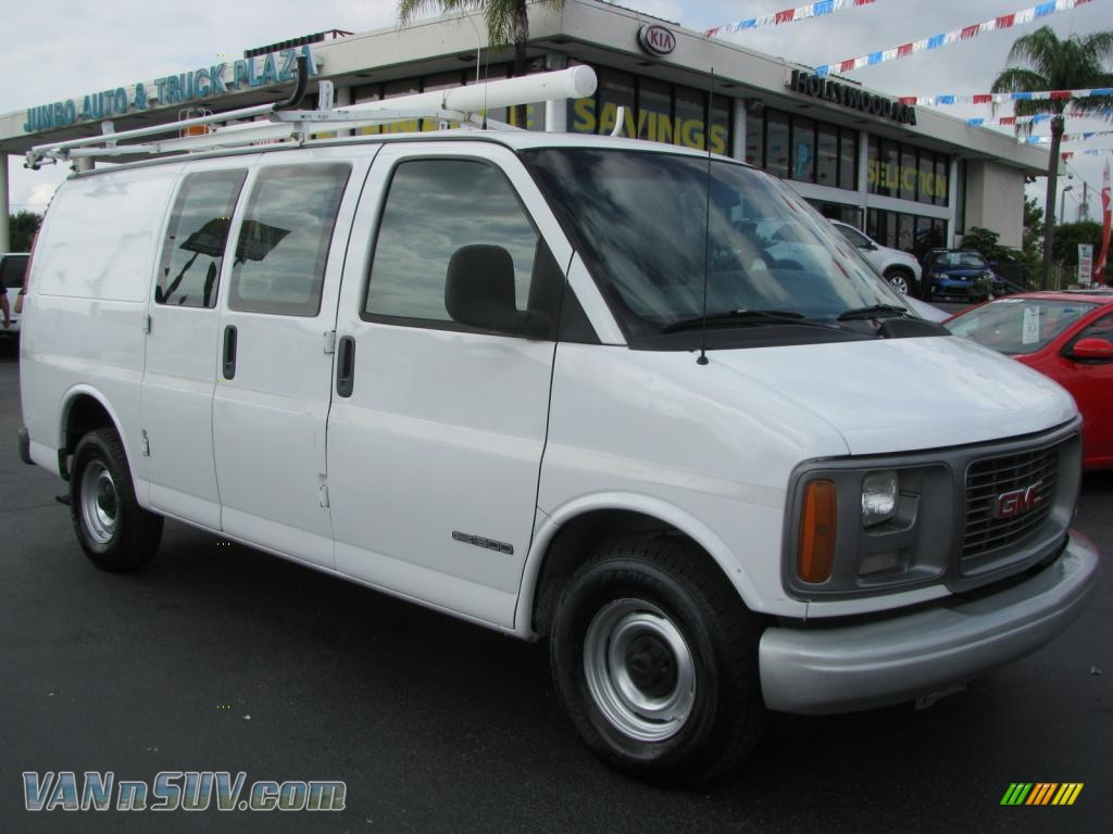 2001 gmc savana van 1500 cargo in summit white 141538 vannsuv com vans and suvs for sale in the us vannsuv com