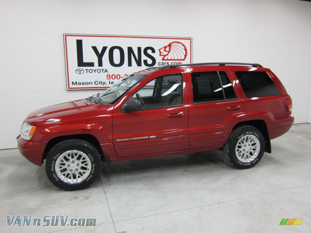 2002 jeep grand cherokee limited 4x4 in inferno red tinted for 2002 jeep grand cherokee rear window off track