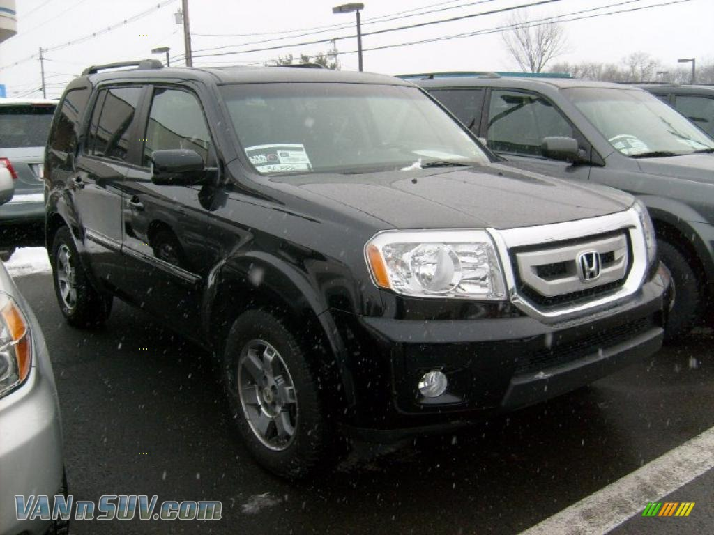 2009 Honda Pilot Touring 4wd In Formal Black 020790