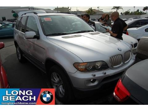 Sterling Grey Metallic 2004 BMW X5 4.4i. Sterling Grey Metallic