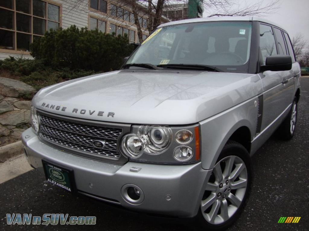 2006 land rover range rover supercharged in zambezi silver metallic 218149. Black Bedroom Furniture Sets. Home Design Ideas
