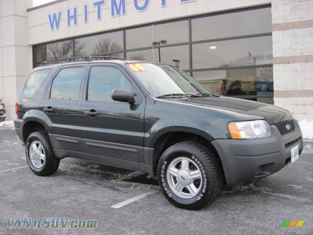 2004 ford escape xls 4wd in aspen green metallic a38540. Black Bedroom Furniture Sets. Home Design Ideas