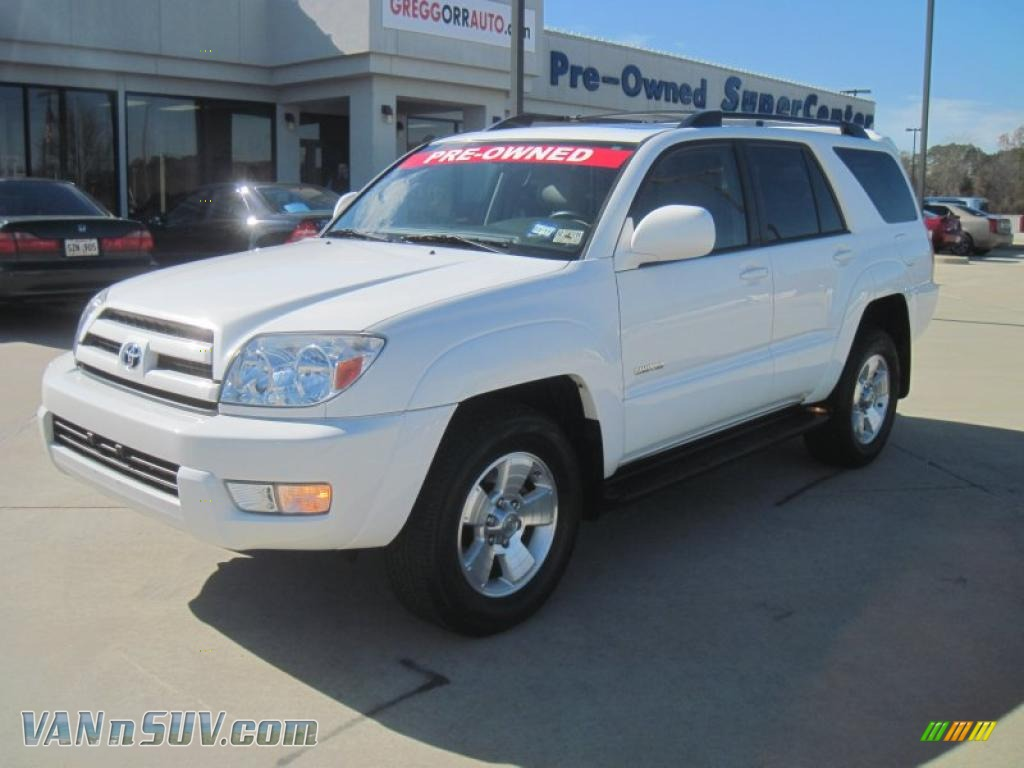 2005 Toyota 4runner Limited In Natural White 026734 Vannsuv Com Vans And Suvs For Sale In The Us