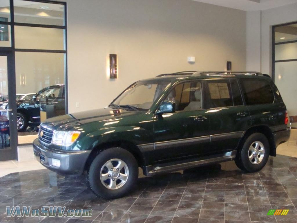 2001 Toyota Land Cruiser in Imperial Jade Green - 006195 | VANnSUV ...