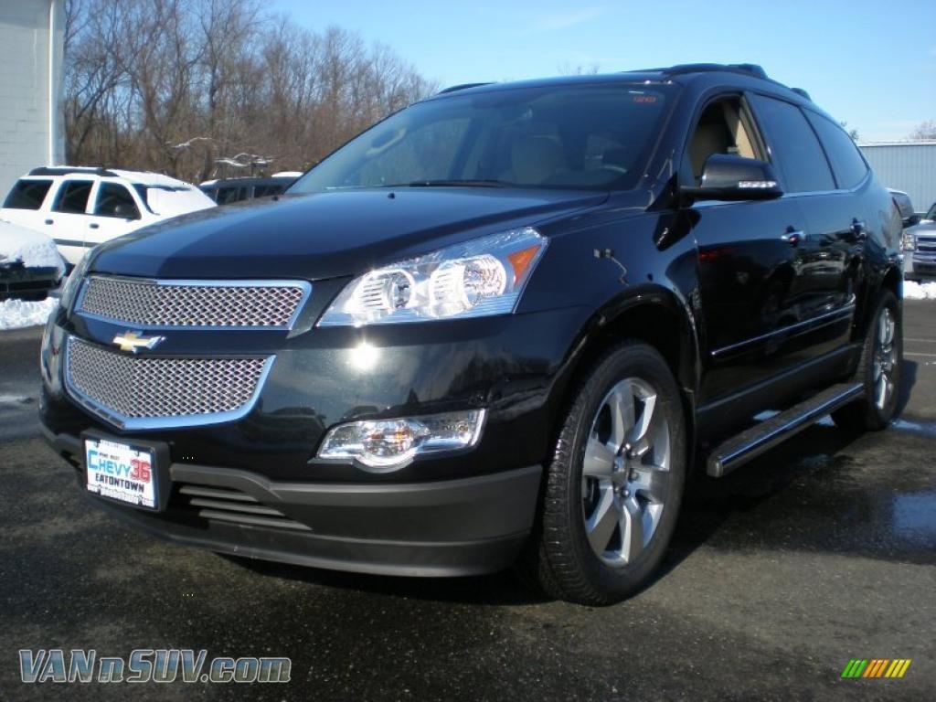 2011 Chevrolet Traverse LTZ AWD in Black Granite Metallic ...