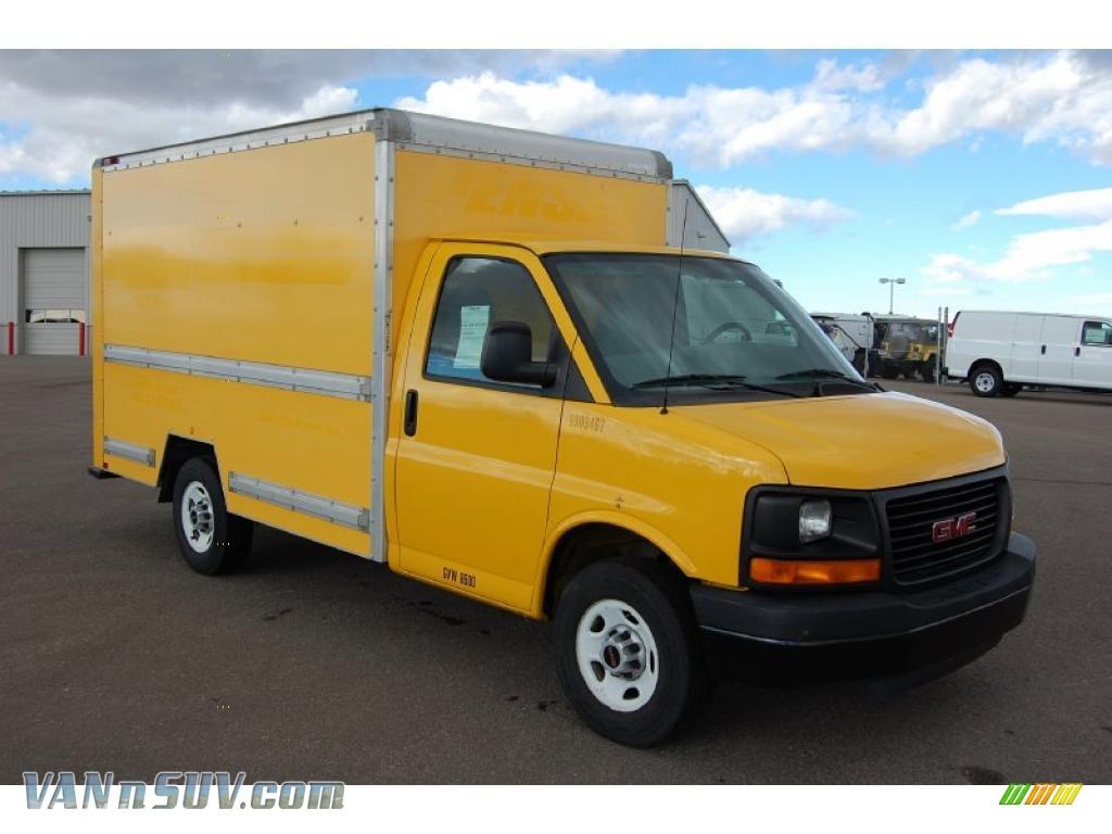 2007 Gmc Savana Cutaway 3500 Commercial Cargo Van In