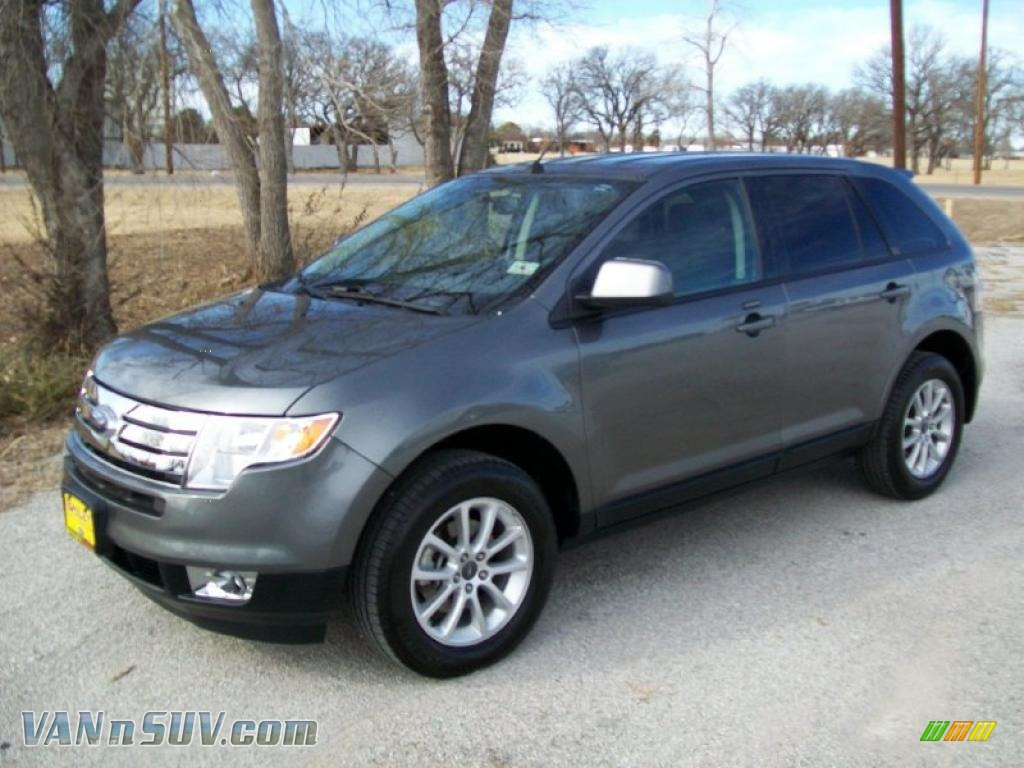 Sterling Grey Metallic Charcoal Black Ford Edge Sel