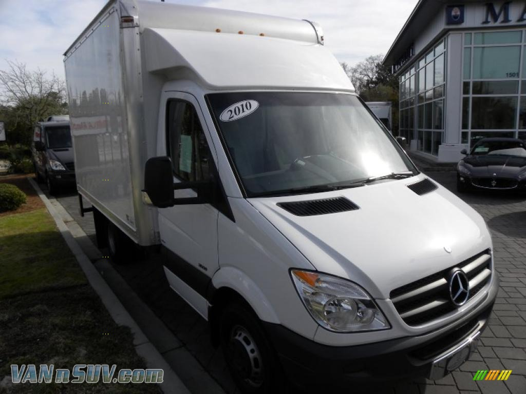 2010 mercedes benz sprinter 3500 chassis in arctic white for 2010 mercedes benz sprinter extended cargo van