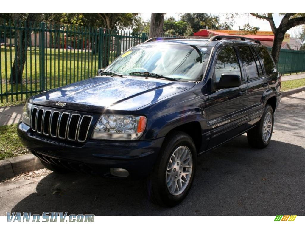 2003 jeep grand cherokee limited 4x4 in patriot blue pearl 556070 vannsuv com vans and suvs for sale in the us vannsuv com
