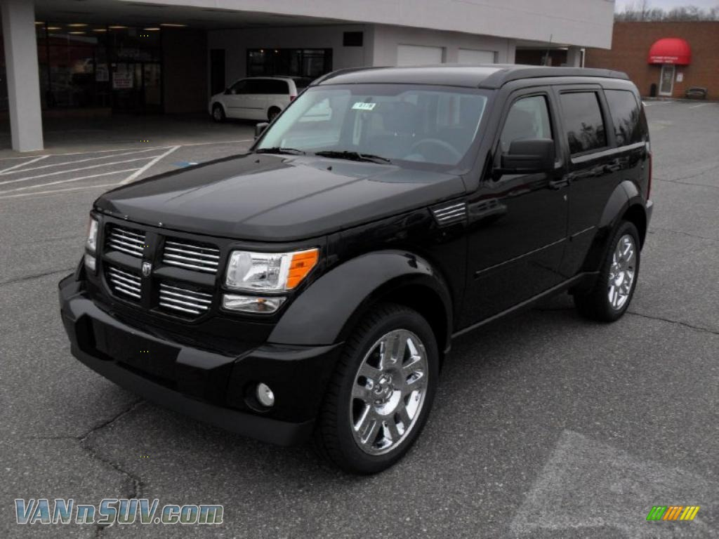 2011 dodge nitro heat in brilliant black crystal pearl 541840 vans and suvs. Black Bedroom Furniture Sets. Home Design Ideas