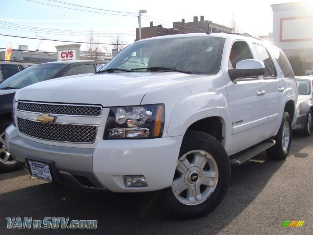 2008 chevrolet tahoe z71 4x4 in summit white 147443 vans and suvs for sale in. Black Bedroom Furniture Sets. Home Design Ideas