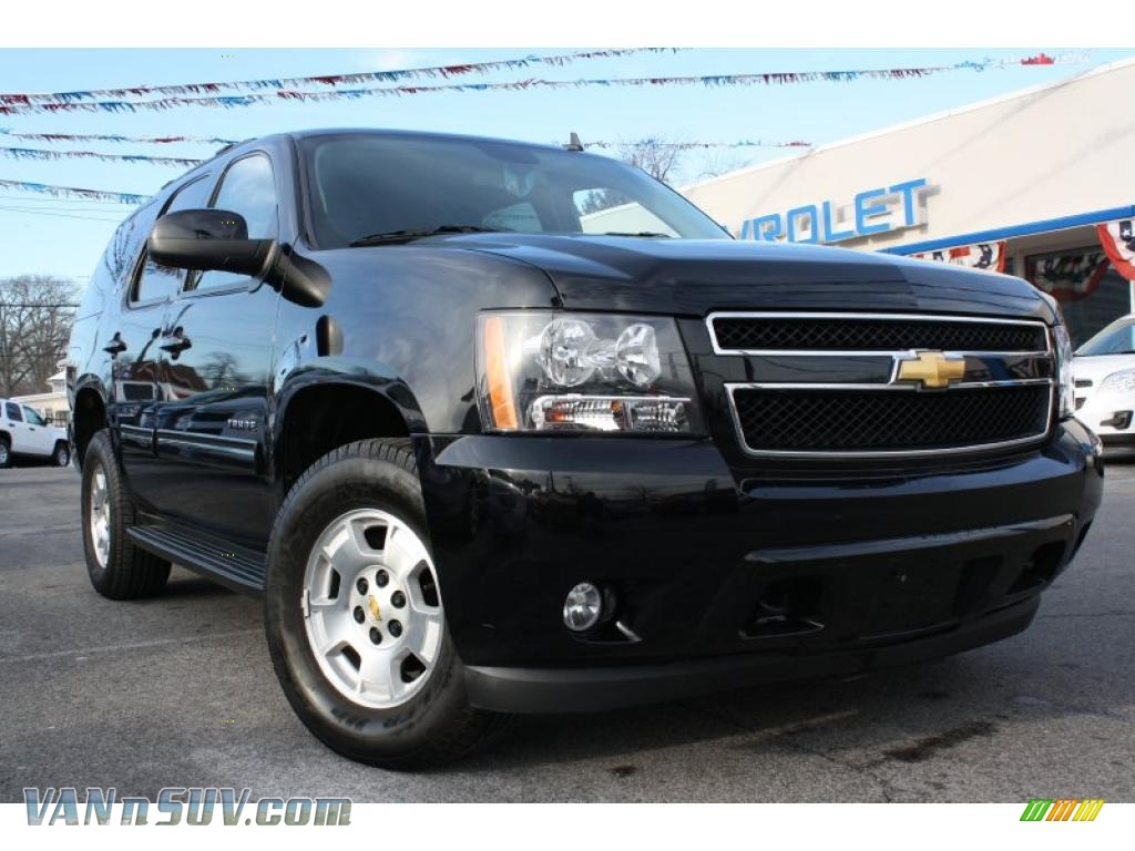 2009 chevrolet tahoe lt 4x4 in black 267204 vans and suvs for sale in the us. Black Bedroom Furniture Sets. Home Design Ideas