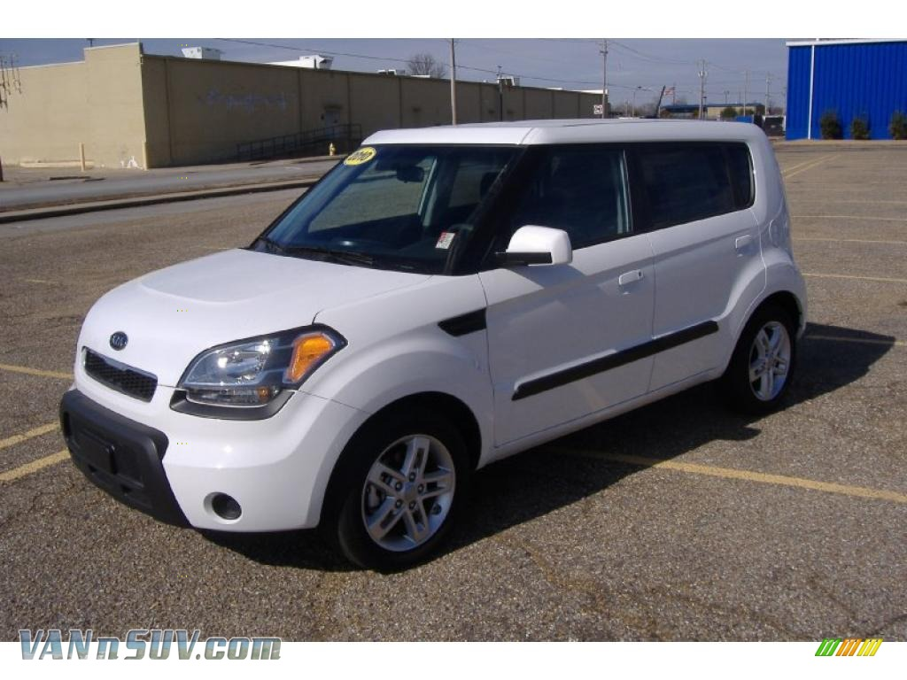 2010 Kia Soul In Clear White 160168 Vannsuv Com