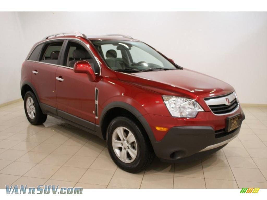 2008 Saturn Vue Xe In Ruby Red 642926 Vannsuv Com