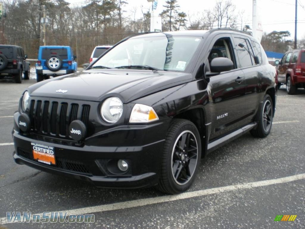 2007 jeep compass sport 4x4 in black 377892 vans and suvs for sale in the us. Black Bedroom Furniture Sets. Home Design Ideas