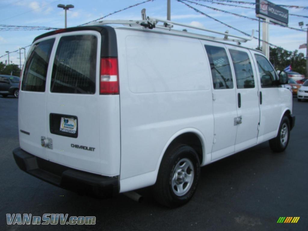 2006 chevrolet express 1500 cargo van in summit white photo 14 262755 vans. Black Bedroom Furniture Sets. Home Design Ideas