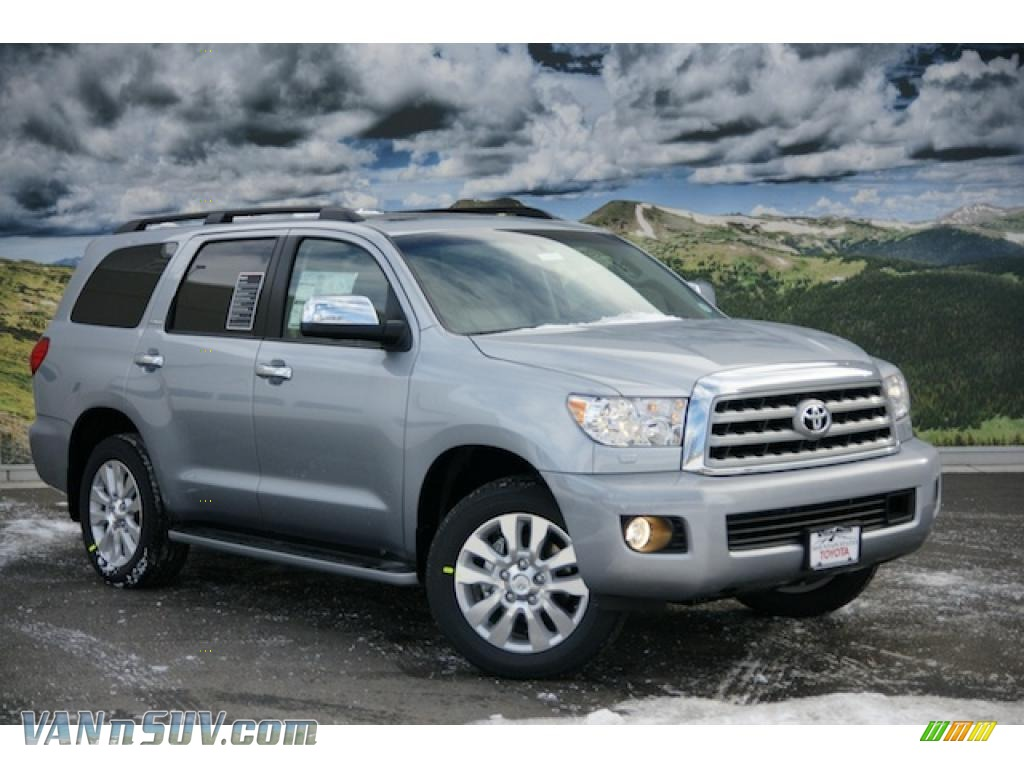 2011 toyota sequoia platinum 4wd in silver sky metallic. Black Bedroom Furniture Sets. Home Design Ideas