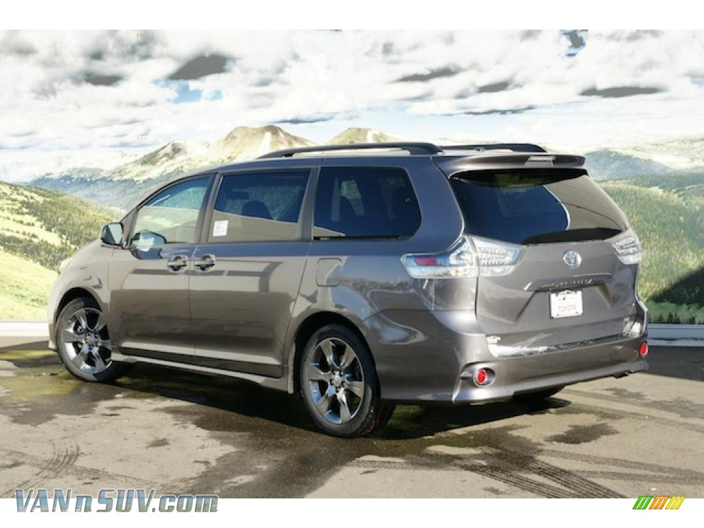 2011 toyota sienna se in predawn gray mica photo 3. Black Bedroom Furniture Sets. Home Design Ideas