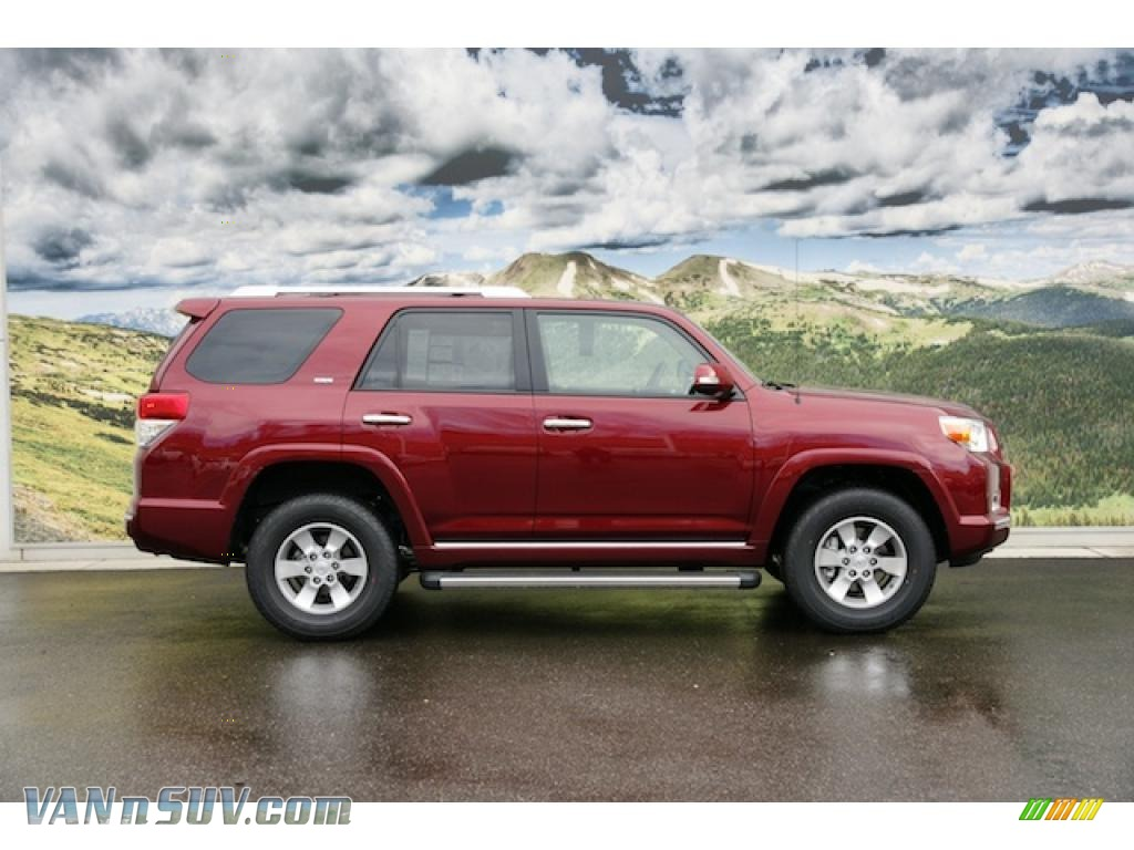2011 Toyota 4runner Sr5 4x4 In Salsa Red Pearl Photo 2 052914 Vannsuv Com Vans And Suvs For Sale In The Us