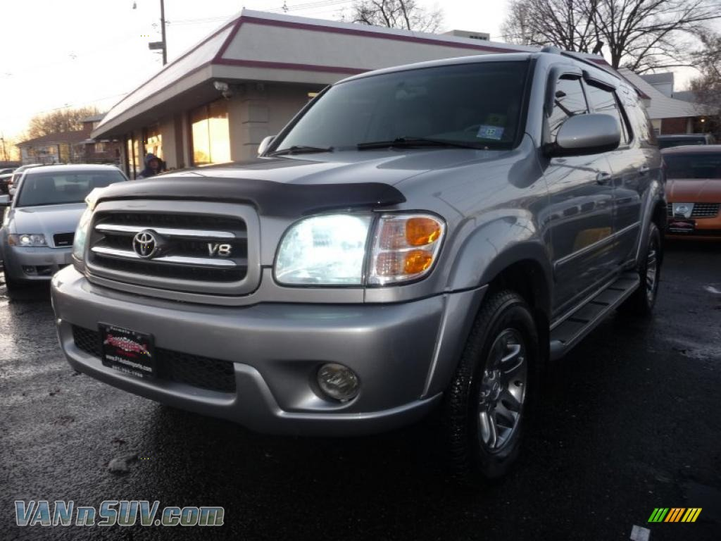 2003 Toyota Sequoia Limited 4wd In Silver Sky Metallic