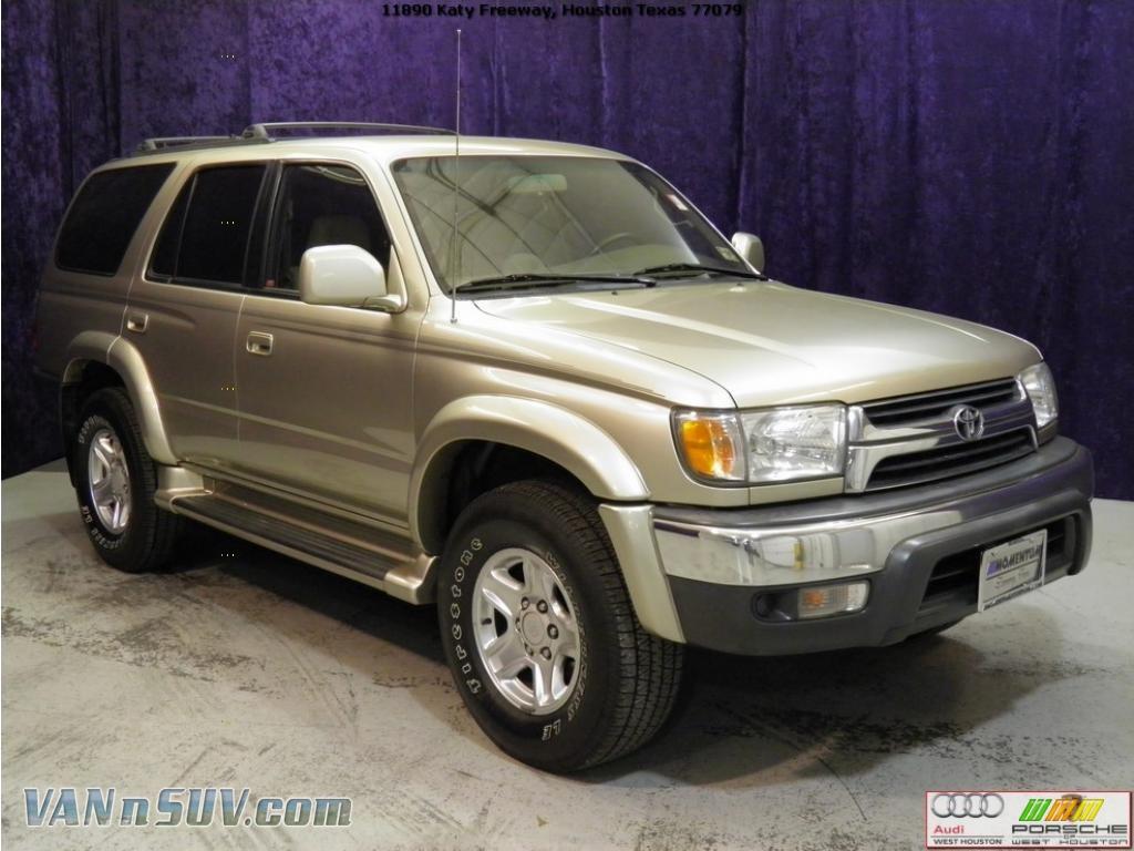 2002 Toyota 4runner Sr5 4x4 In Dorado Gold Pearl 379890