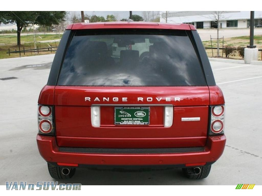 2011 land rover range rover autobiography in rimini red. Black Bedroom Furniture Sets. Home Design Ideas