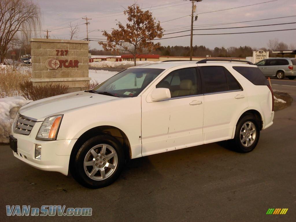 2009 Cadillac Srx 4 V6 Awd In White Diamond Tri Coat
