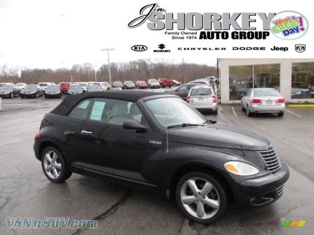 Jim Shorkey Dodge >> 2005 Chrysler PT Cruiser GT Convertible in Black - 362491 | VANnSUV.com - Vans and SUVs for sale ...