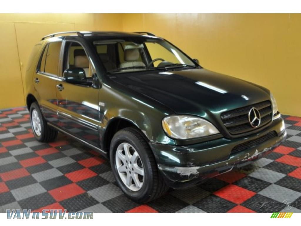 2001 mercedes benz ml 430 4matic in cypress green metallic. Black Bedroom Furniture Sets. Home Design Ideas