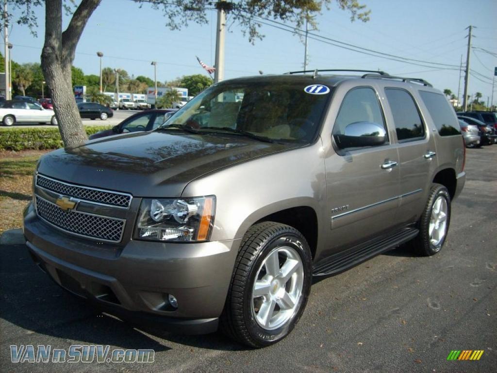 2011 Chevrolet Tahoe Ltz In Mocha Steel Metallic 269227