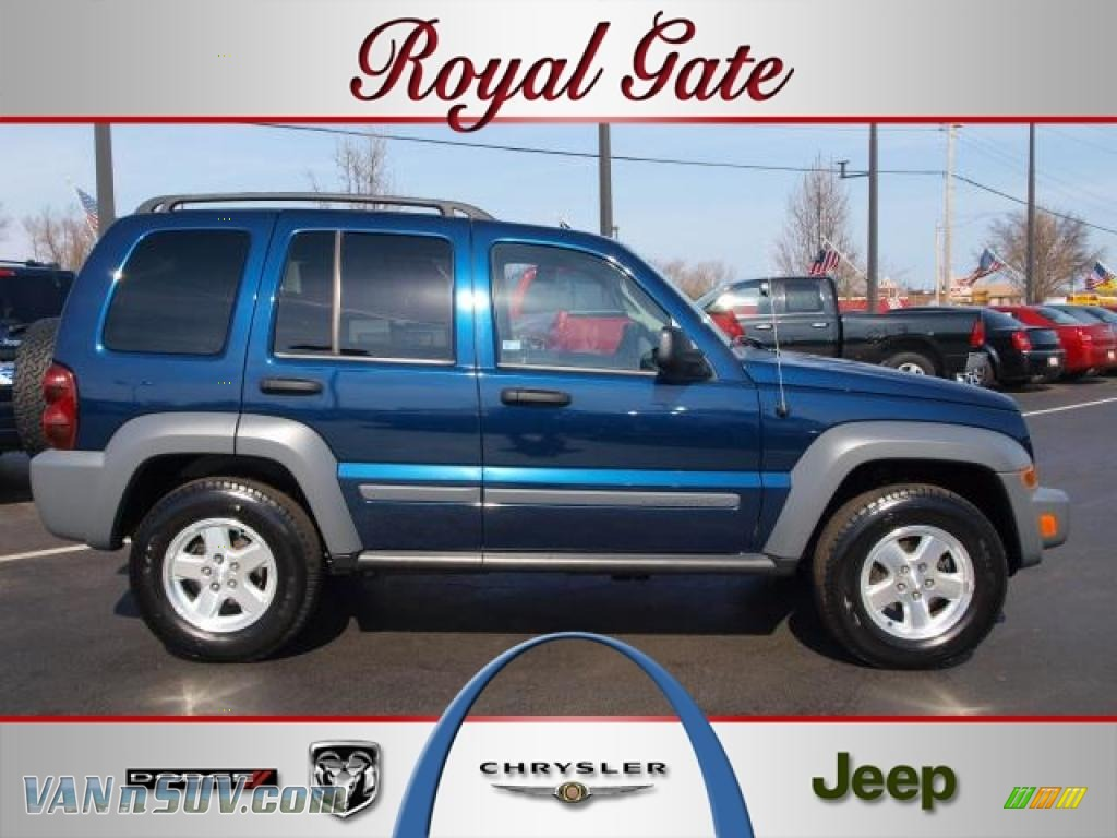 All Types liberty crd : 2005 Jeep Liberty CRD Sport 4x4 in Midnight Blue Pearl - 686680 ...
