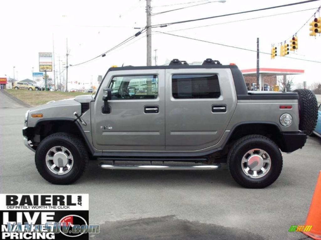 2008 hummer h2 sut in graystone metallic photo 4 106158 vans and suvs for. Black Bedroom Furniture Sets. Home Design Ideas