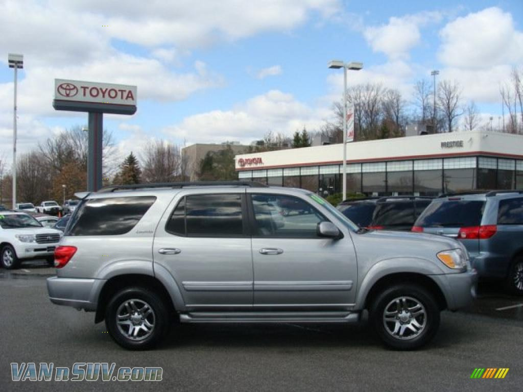 2006 Toyota Sequoia Limited 4wd In Silver Sky Metallic