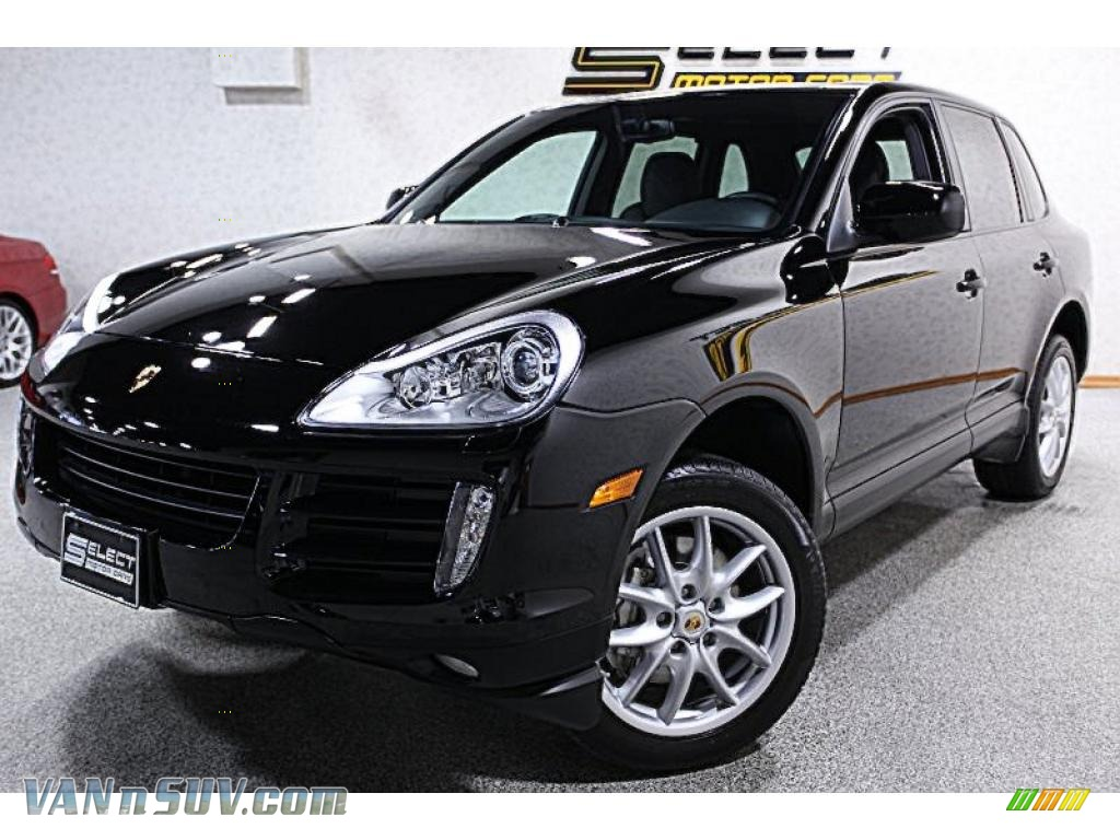 2008 porsche cayenne s in black a51438 vans and suvs for sale in the us. Black Bedroom Furniture Sets. Home Design Ideas