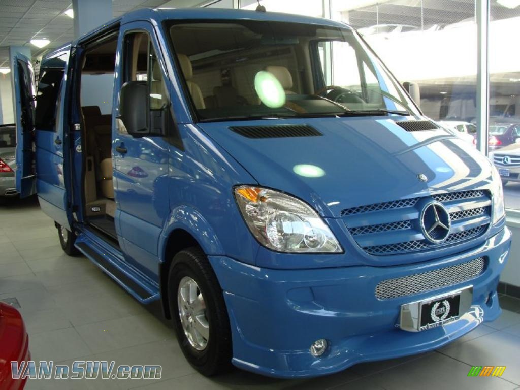 Converted sprinter van for autos weblog for Mercedes benz sprinter conversion van for sale