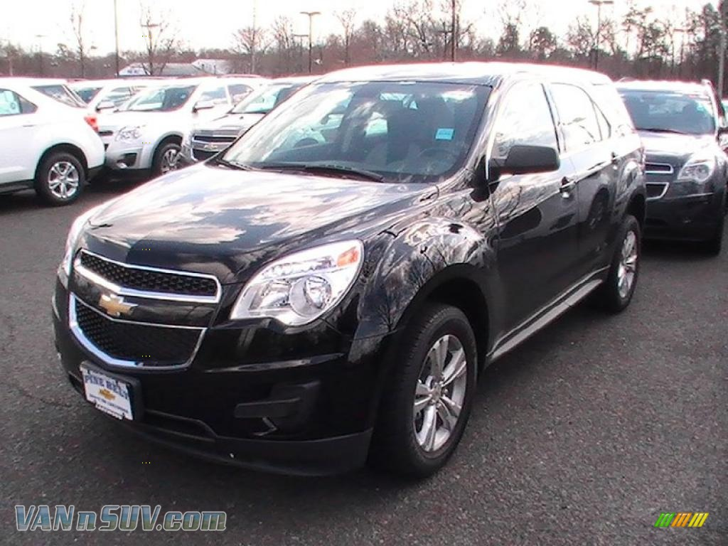 2011 chevrolet equinox ls awd in black 382716 vans and suvs for sale in the us. Black Bedroom Furniture Sets. Home Design Ideas