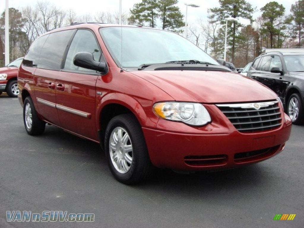 2007 chrysler town country touring in inferno red. Black Bedroom Furniture Sets. Home Design Ideas
