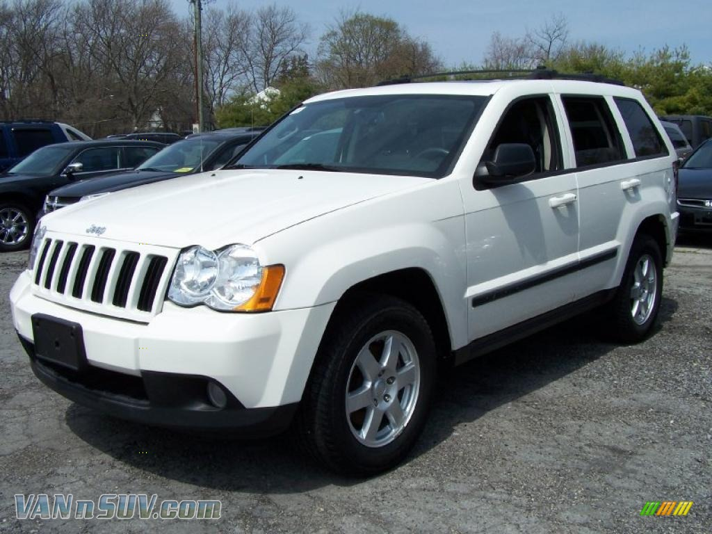 2008 jeep grand cherokee laredo 4x4 in stone white 197277 vannsuv. Cars Review. Best American Auto & Cars Review