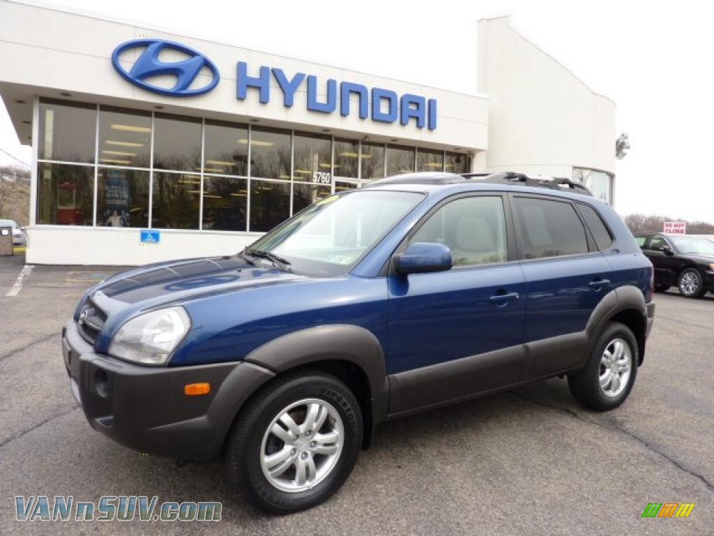 2006 hyundai tucson gls v6 4x4 in nautical blue metallic. Black Bedroom Furniture Sets. Home Design Ideas