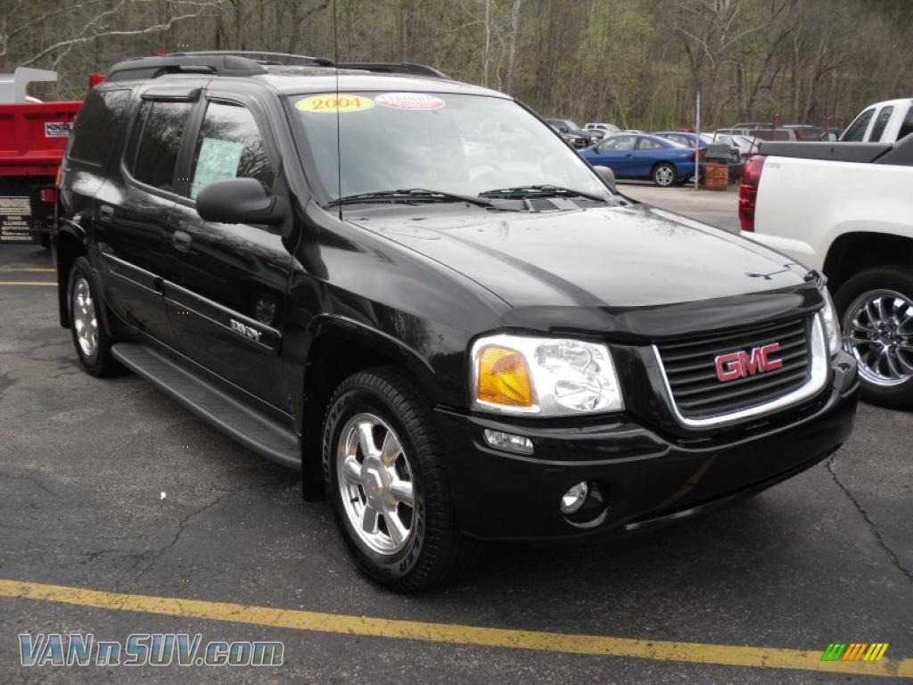 2004 gmc envoy xl slt 4x4 in onyx black 232901 vannsuv. Black Bedroom Furniture Sets. Home Design Ideas