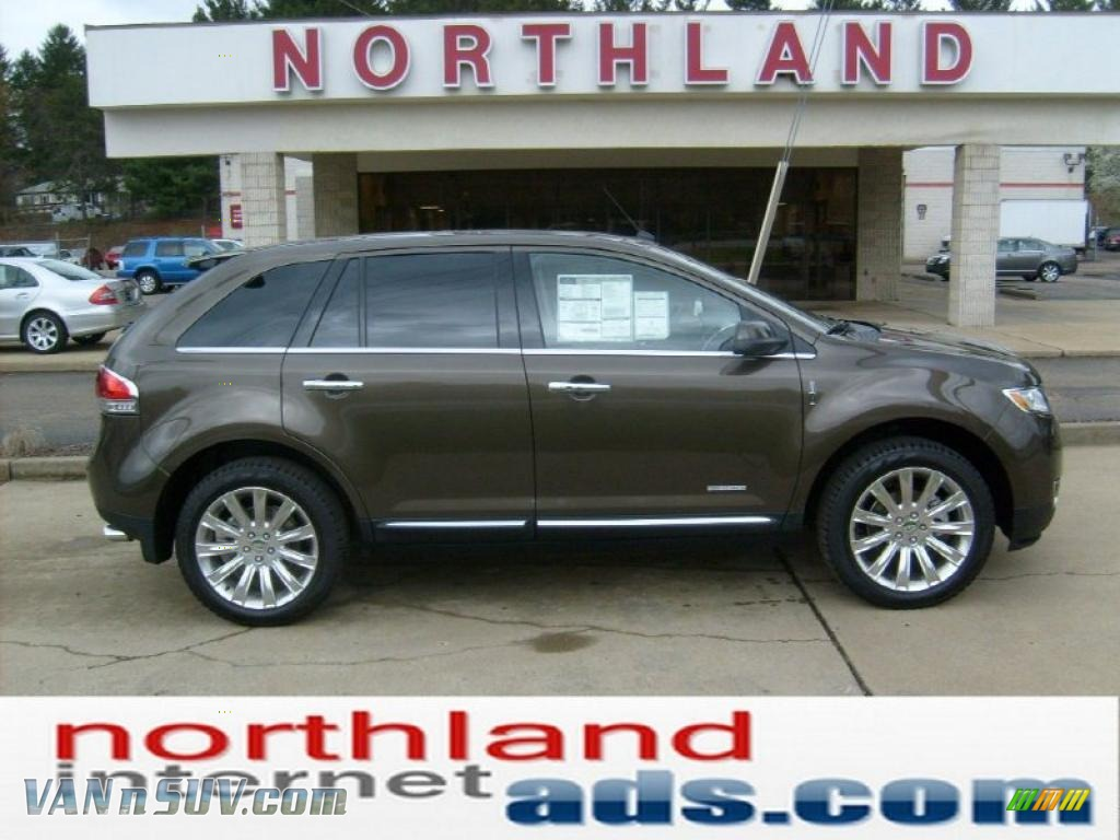 2011 Lincoln MKX Limited Edition AWD in Earth Metallic - J18807 | VANnSUV.com - Vans and SUVs ...