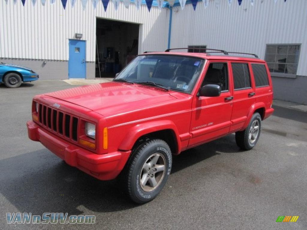 1998 jeep cherokee sport 4x4 in bright red 116450. Cars Review. Best American Auto & Cars Review